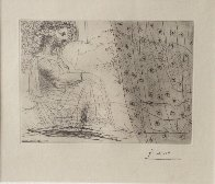 Minotaure Endormi Contemple Par Une Femme From the Vollard Suite 1933 HS Limited Edition Print by Pablo Picasso - 1