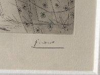 Minotaure Endormi Contemple Par Une Femme From the Vollard Suite 1933 Limited Edition Print by Pablo Picasso - 2