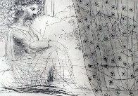 Minotaure Endormi Contemple Par Une Femme From the Vollard Suite 1933 Limited Edition Print by Pablo Picasso - 0