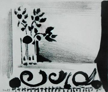 Vase De Fleurs Au Tapis a Ramages 1947  Limited Edition Print - Pablo Picasso