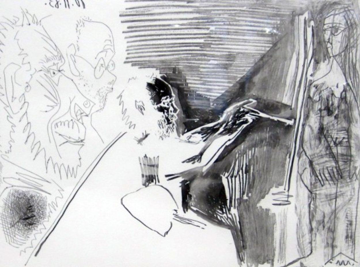 Peinture Au Travail #1 1963 HS Limited Edition Print by Pablo Picasso