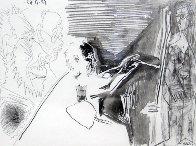 Peinture Au Travail #1 1963 HS Limited Edition Print by Pablo Picasso - 0