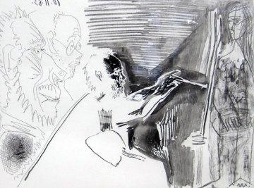 Peinture Au Travail #1 1963 Limited Edition Print - Pablo Picasso