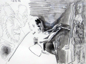 Peinture Au Travail #1 1963 HS Limited Edition Print - Pablo Picasso