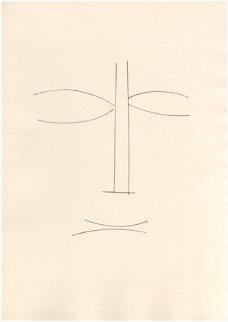 Visage De Face - Corps Perdu 1950 Limited Edition Print - Pablo Picasso