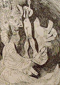 La Celestine  De Fernando De Rojas 1971 Limited Edition Print - Pablo Picasso