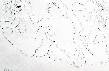 Trois Femmes Bloch 1206 1965 HS Limited Edition Print - Pablo Picasso