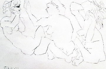 Trois Femmes Bloch 1206 1965 Limited Edition Print by Pablo Picasso
