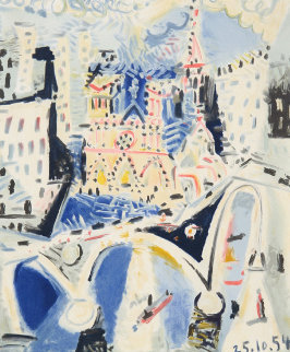Notre Dame Limited Edition Print -  Picasso Estate Signed Editions