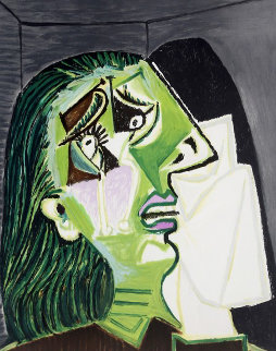 Femme Au Mouchoir Limited Edition Print -  Picasso Estate Signed Editions