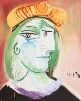 Marie Therese Walter Limited Edition Print by  Picasso Estate Signed Editions