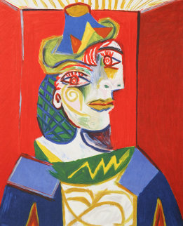 Buste De Femme Limited Edition Print by  Picasso Estate Signed Editions