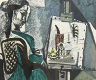 Femme Dans L'atelier  Limited Edition Print by  Picasso Estate Signed Editions - 0