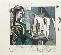 Femme Dans L'atelier  Limited Edition Print by  Picasso Estate Signed Editions - 1