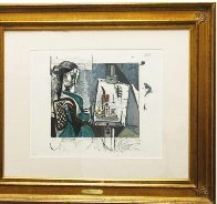 Femme Dans L'atelier  Limited Edition Print by  Picasso Estate Signed Editions - 2