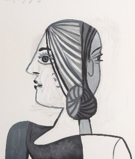 Tete  Limited Edition Print -  Picasso Estate Signed Editions