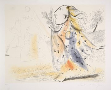 Minotaure Et Femme Limited Edition Print by  Picasso Estate Signed Editions