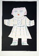 Une Poupee Decoupee Limited Edition Print by  Picasso Estate Signed Editions - 1