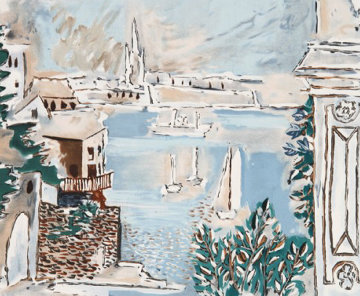 Passage De Dinard Limited Edition Print by  Picasso Estate Signed Editions