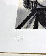 Couple Et Enfant Au Rameau D'olivier Limited Edition Print by  Picasso Estate Signed Editions - 2