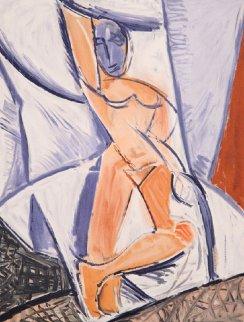 Etude Pour Le Nu a La Draperie Limited Edition Print by  Picasso Estate Signed Editions