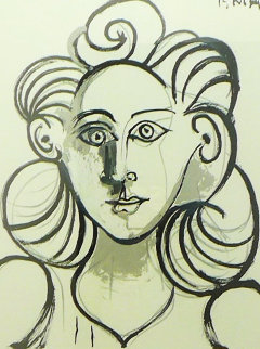 Portrait De Femme Limited Edition Print by  Picasso Estate Signed Editions