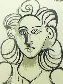 Portrait De Femme Limited Edition Print by  Picasso Estate Signed Editions