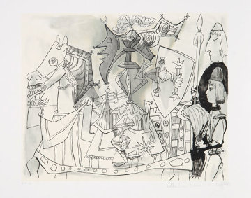 Jeux De Pages AP Limited Edition Print -  Picasso Estate Signed Editions