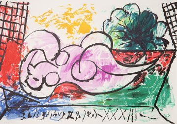 Femme Endormie  Limited Edition Print by  Picasso Estate Signed Editions
