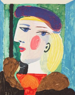 Femme Profile Limited Edition Print by  Picasso Estate Signed Editions