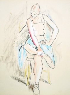 Femme Assise Limited Edition Print by  Picasso Estate Signed Editions
