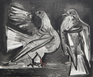 Deux Pigeons Limited Edition Print by  Picasso Estate Signed Editions