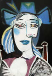 Buste De Femme Au Chapeau Bleu Limited Edition Print -  Picasso Estate Signed Editions