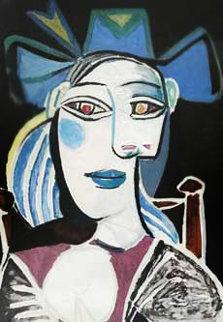 Buste De Femme Au Chapeau Bleu Limited Edition Print -  Picasso Estate Signed Editions