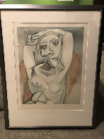 Femme Au Fauteuil Rouge   Limited Edition Print by  Picasso Estate Signed Editions - 1