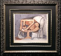 Femme a La Toilette Limited Edition Print by  Picasso Estate Signed Editions - 1