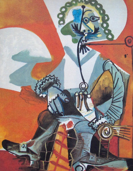Buckled Shoeman   Limited Edition Print by  Picasso Estate Signed Editions