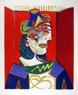 Buste De Femme (After Portrait of Dora Maar, 1936) Limited Edition Print -  Picasso Estate Signed Editions