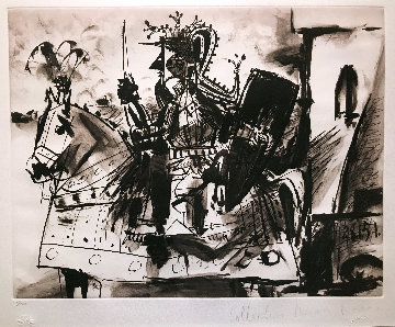 Cavalier En Armure Limited Edition Print -  Picasso Estate Signed Editions