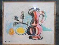 Nature Morte Au Pichet Rose Limited Edition Print by  Picasso Estate Signed Editions - 1