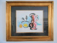 Nature Morte Au Pichet Rose Limited Edition Print by  Picasso Estate Signed Editions - 3