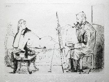 Le Peintre Et Son Modele Limited Edition Print by  Picasso Estate Signed Editions