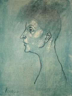 Head of a Woman  Limited Edition Print by  Picasso Estate Signed Editions