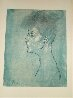 Head of a Woman  Limited Edition Print by  Picasso Estate Signed Editions - 1