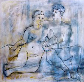 Blue Lovers Limited Edition Print -  Picasso Estate Signed Editions