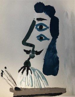 Le Peintre Et Sa Palette (Estate Signed) Limited Edition Print -  Picasso Estate Signed Editions