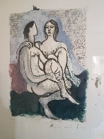 La Couple  1983 Limited Edition Print by  Picasso Estate Signed Editions - 2