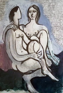 La Couple 1983 Limited Edition Print by  Picasso Estate Signed Editions