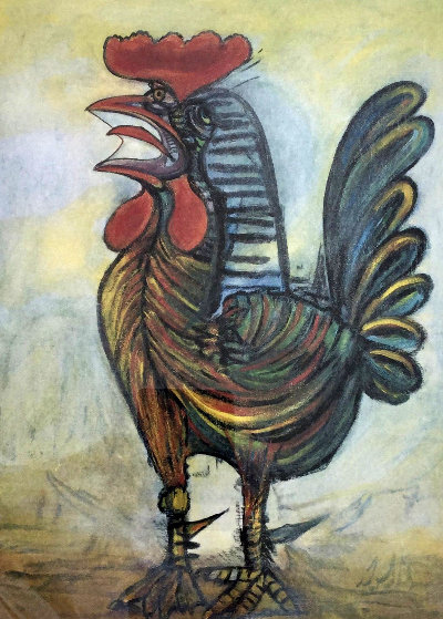 Rooster Limited Edition Print by  Picasso Estate Signed Editions