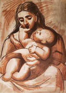 Mere Et Enfant  Limited Edition Print -  Picasso Estate Signed Editions